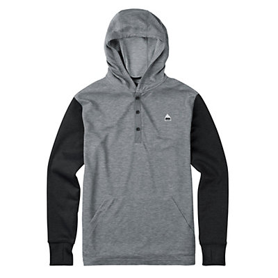 Burton Dexter Hooded Henley Mens Hoodie, , viewer