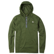 Burton Dexter Hooded Henley Hoodie, Rifle Green Heather, medium