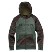 Burton Scoop Womens Hoodie, Oil Camo, medium