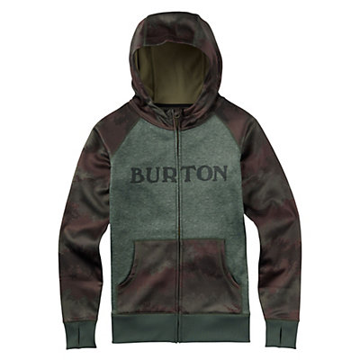 Burton Scoop Womens Hoodie, Oil Camo, viewer