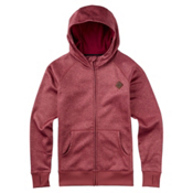 Burton Scoop Womens Hoodie, Rosette Heather, medium