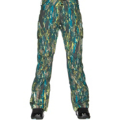 Burton Fly Womens Snowboard Pants, Splatter Camo, medium