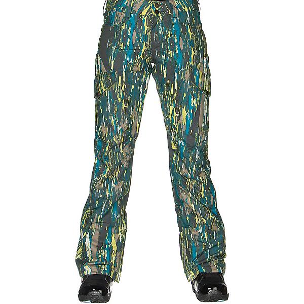 Burton Fly Womens Snowboard Pants, Splatter Camo, 600