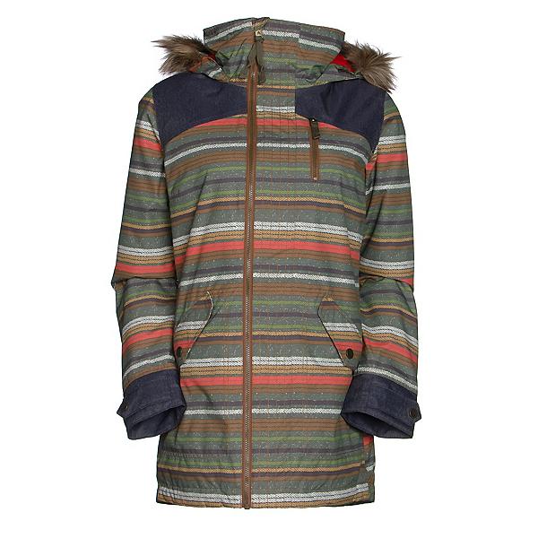 Burton Hazel w/Faux Fur Womens Insulated Snowboard Jacket, , 600