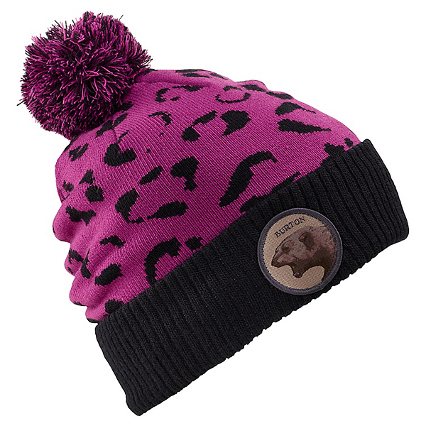 Burton Marcy Womens Hat, True Black-Grapeseed, 600