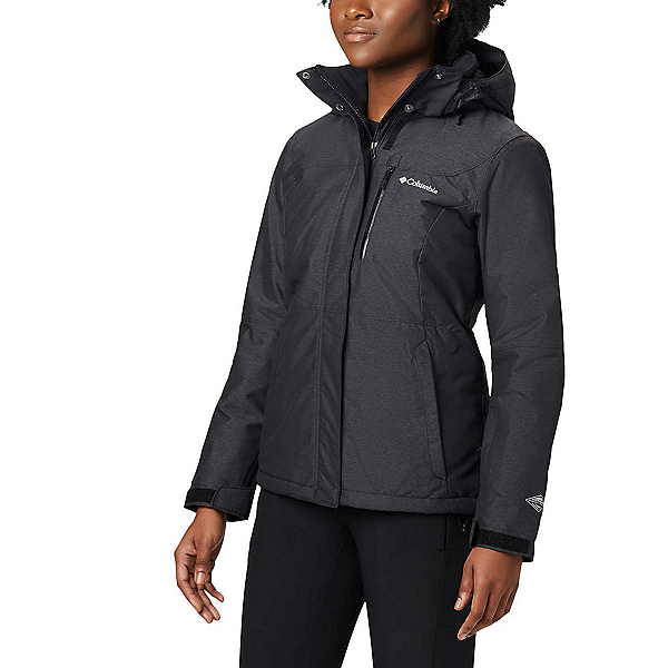 Columbia Alpine Action Plus Womens Insulated Ski Jacket, Black, 600