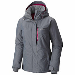 Columbia Alpine Action Plus Womens Insulated Ski Jacket, Grey Ash, 256