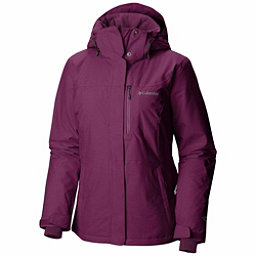 Columbia Alpine Action Plus Womens Insulated Ski Jacket, Dark Raspberry Crossdye-Deep B, 256