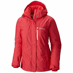 Columbia Alpine Action Plus Womens Insulated Ski Jacket, Red Camellia Crossdye, 256