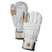 Hestra Morrison Pro Model 3 Finger Gloves, Off White, medium