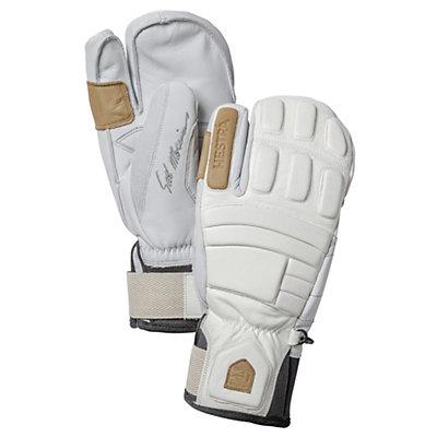 Hestra Morrison Pro Model 3 Finger Gloves, Off White, viewer