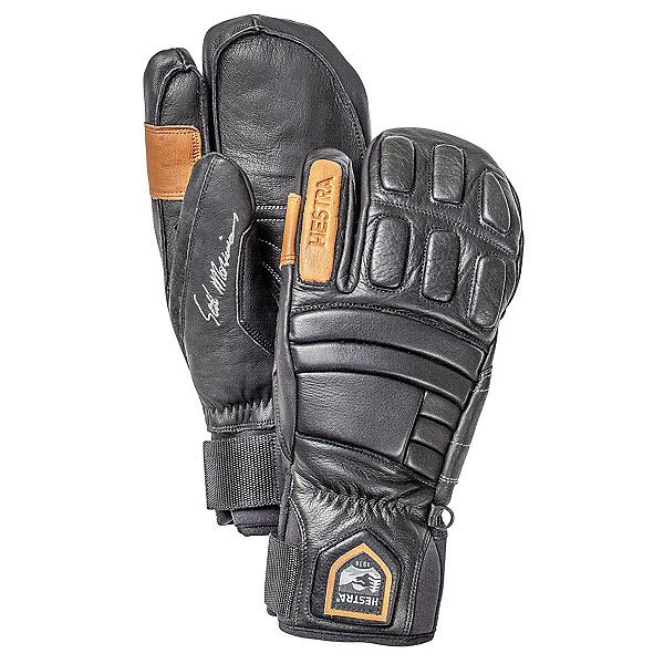 Hestra Morrison Pro Model 3 Finger Gloves, Black, 600