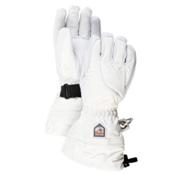 Hestra Heli Womens Gloves, Ivory-Off White, medium