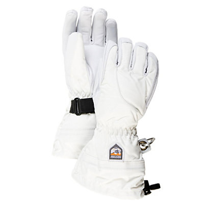 Hestra Heli Womens Gloves, Ivory-Off White, viewer
