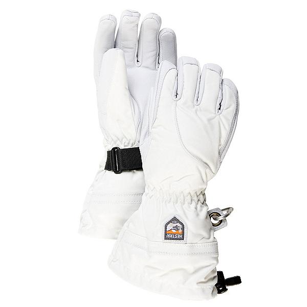 Hestra Heli Womens Gloves, Ivory-Off White, 600