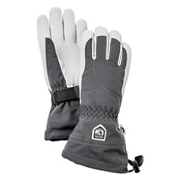 Hestra Heli Glove Womens Gloves, Grey-Off White, 256