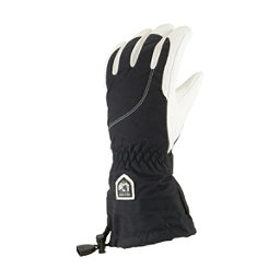 Hestra Heli Glove Womens Gloves, Black-Off White, 256