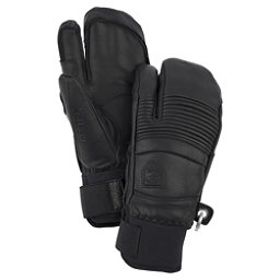 Hestra Fall Line 3 Finger Gloves, Black, 256