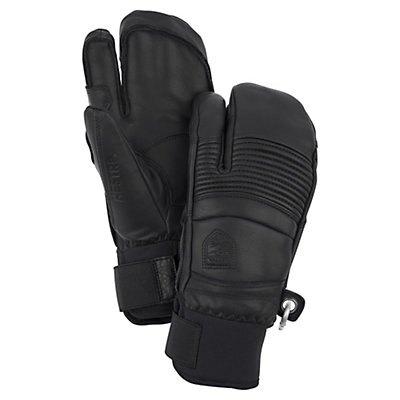 Hestra Fall Line 3 Finger Gloves, Black, viewer