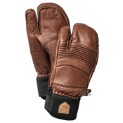 Hestra Fall Line 3 Finger Gloves, Brown, medium