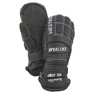 Hestra RSL Comp Vertical Cut Mens Ski Racing Gloves, Black, viewer
