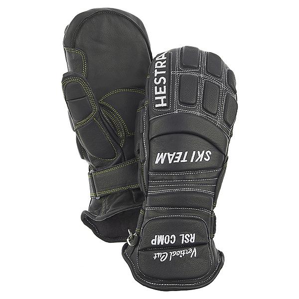 Hestra RSL Comp Vertical Cut Mens Ski Racing Gloves, Black, 600