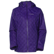 Columbia Whirlibird Interchange Womens Insulated Ski Jacket, Hyper Purple, medium