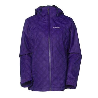 Columbia Whirlibird Interchange Womens Insulated Ski Jacket, , viewer
