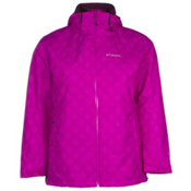 Columbia Whirlibird Interchange Plus Womens Insulated Ski Jacket, Bright Plum, medium