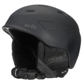 Pret Facet Womens Helmet, Rubber Pearl Black, medium