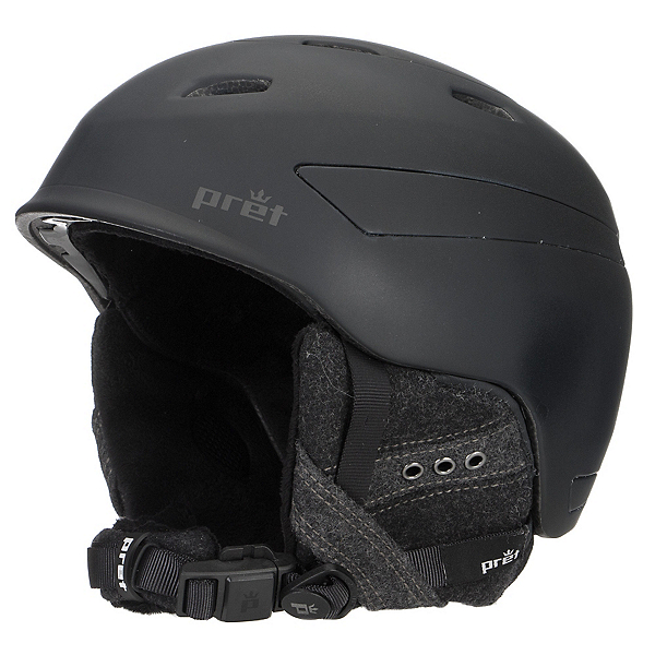 Pret Facet Womens Helmet, Rubber Pearl Black, 600