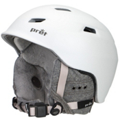 Pret Luxe Womens Helmet 2016, Rubber Pearl White, medium