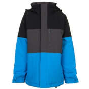 Burton Symbol Boys Snowboard Jacket, True Black Block, medium