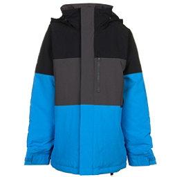 Burton Symbol Boys Snowboard Jacket, True Black Block, 256