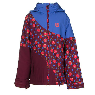 Burton Hart Girls Snowboard Jacket, Periwinks Block, viewer