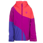 Burton Hart Girls Snowboard Jacket, Grapeseed Block, medium