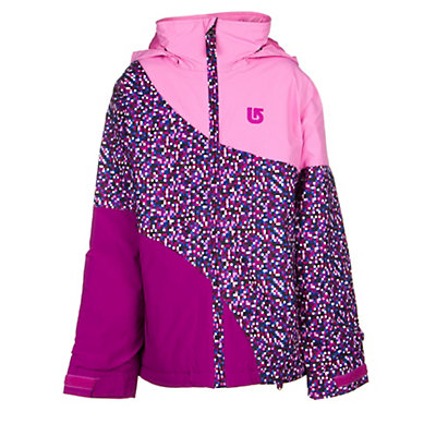 Burton Hart Girls Snowboard Jacket, Periwinks Block, viewer