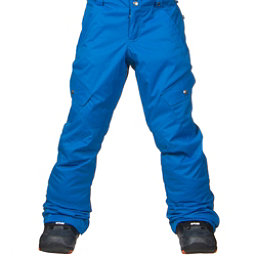 Burton Elite Cargo Girls Snowboard Pants, Heron Blue, 256