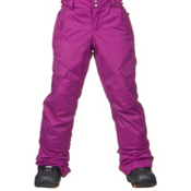 Burton Elite Cargo Girls Snowboard Pants, Grapeseed, medium