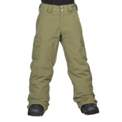 Burton Exile Cargo Kids Snowboard Pants, Algae, medium