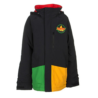 Burton Phase Boys Snowboard Jacket, Algae Block, viewer