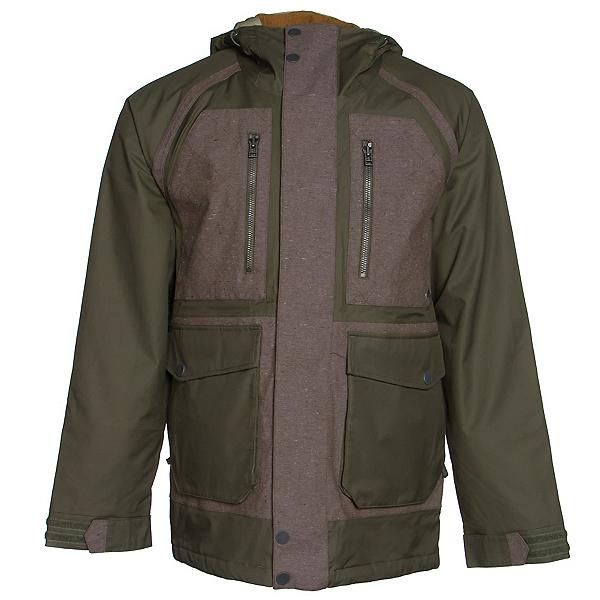 Burton Hellbrook Mens Insulated Snowboard Jacket, , 600