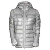 Canada Goose Hybridge Lite Hoody Womens Jacket, Silverbirch, medium