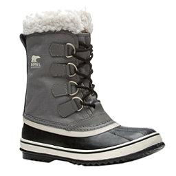 Sorel Winter Carnival Womens Boots, Pewter-Black, 256