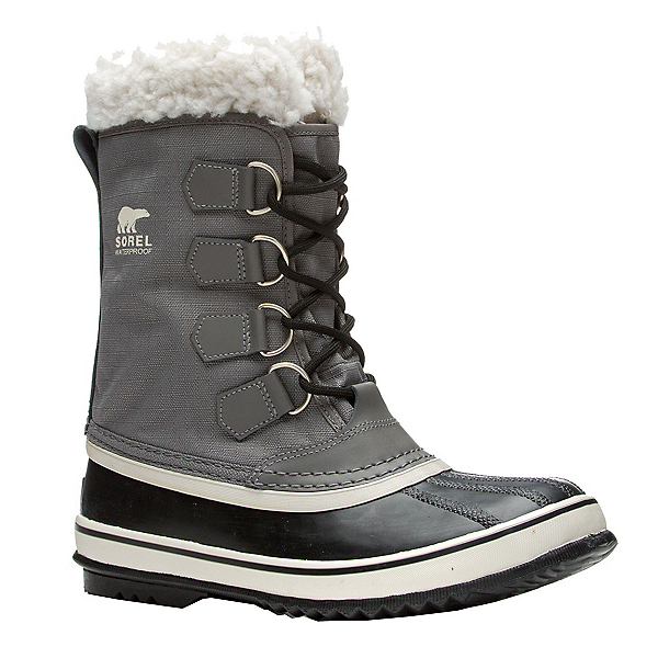 Sorel Winter Carnival Womens Boots, Pewter-Black, 600