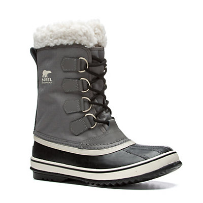 Sorel Winter Carnival Womens Boots, Pewter-Black, viewer