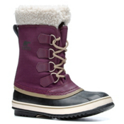 Sorel Winter Carnival Womens Boots, Purple Dahlia-Black, medium