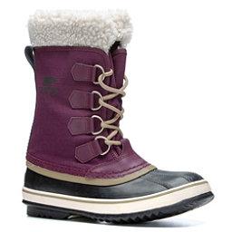 Sorel Winter Carnival Womens Boots, Purple Dahlia-Black, 256