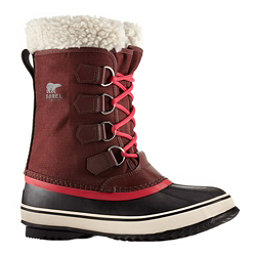 Sorel Winter Carnival Womens Boots, Redwood-Candy Apple, 256