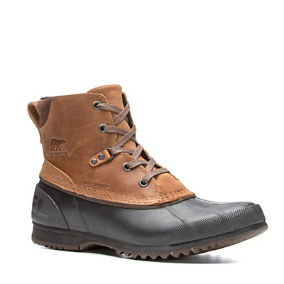 Sorel Ankeny Mens Boots, Elk-Stout, viewer